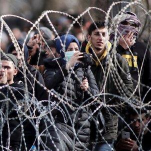 refugiados frontera Grecia EFE
