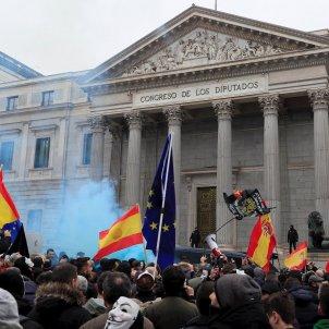 manifestació Jusapol Madrid Congres dels Diputats