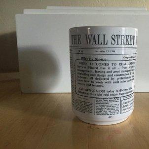wall street journal ceramic coffee mug vintage hollinger businessman design cup 8299f869e6866b407e2a038fdbf41c8f