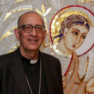 EuropaPress 2688671 El cardenal arzobispo de Barcelona Juan José Omella nuevo presidente de la Conferencia Episcopal Española en el edificio de la Conferencia Episcopal Española en Madrid el 3 de marzo de