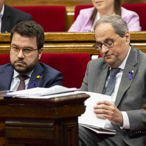 Sessio de control Quim Torra Pere Aragones ERC JxCat - Sergi Alcazar