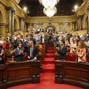 Ple Parlament general aplaudiments - Sergi Alcàzar