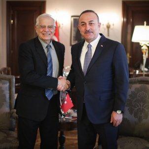 Josep Borrell Mevlut Cavusoglu Turquia EFE