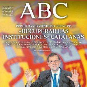 abc portada instituciones catalanas