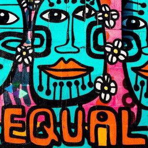 igualtat graffiti - oliver cole unsplash