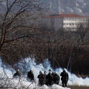 Turquia Grecia refugiados enfrentamientos Efe