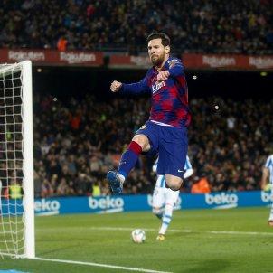 Leo Messi gol Barca Reial Societat EFE
