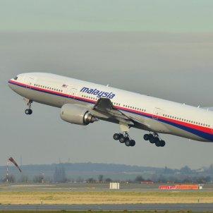 Boeing 777 200ER Vol 370 Malaysia AL Laurent ERRERA  CC 2.0 Viquipèdia