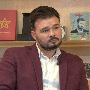 EuropaPress 2697706 portavoz erc congreso diputados gabriel rufian entrevista europa press