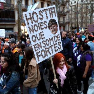cartell 8m feminista efe barcelona