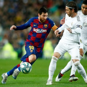 Leo Messi Sergio Ramos Barca Reial Madrid Europa Press