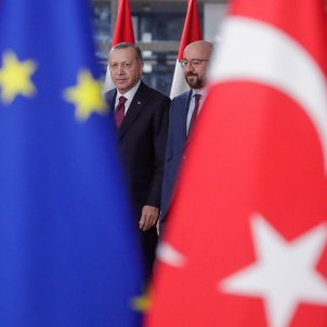 Erdogan Charles Michel Turquia UE - Efe