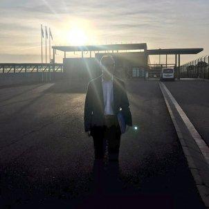 Jordi Turull surt de Lledoners - Twitter Jordi Turull