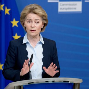 Ursula Von der Leyen Comissió Europea - Etienne Ansotte/European Commiss / DPA