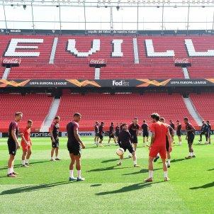 Sevilla entrenament EFE