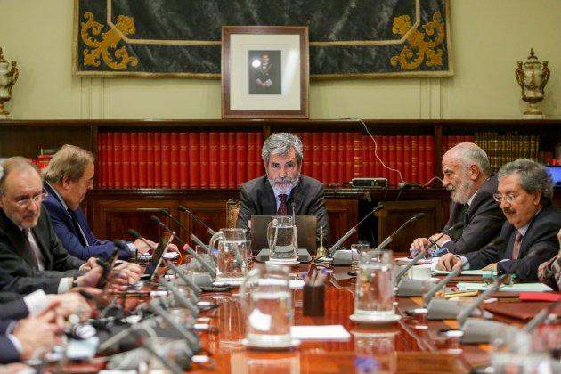 presidente consejo general poder judicial carlos lesmes - Ricardo Rubio / Europa Press