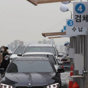 Corea del Sud coronavirus punts per fer proves EFE