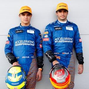 Carlos Sainz Mclaren @McLarenF1