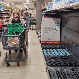 Supermercats Madrid coronavirus EFE