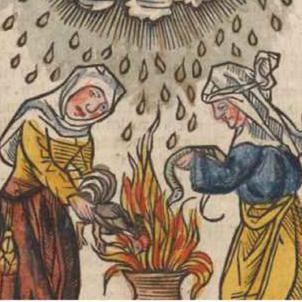 Test 94. Les caceres de bruixes a Catalunya
