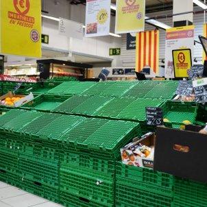 Supermercat buit coronavirus - Guillem Camós