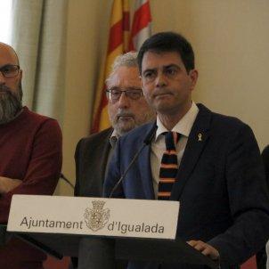 Marc Castells - alcalde d'Igualada, ACN