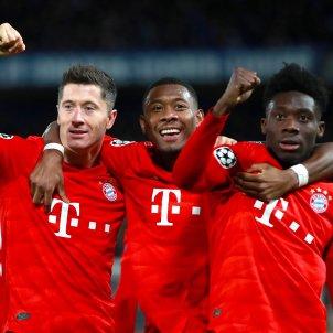 Lewandowski Alaba Bayern Munich Champions Europa Press