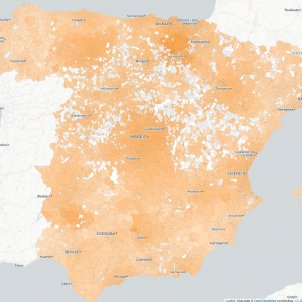 mapa coronavirus espanya 13 marzo
