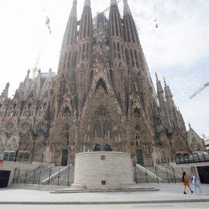 coronavirus barcelona sagrada familia efe