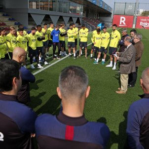 Barca entrenament coronavirus FC Barcelona