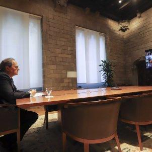 Torra reunió presidents autonòmics Ruben Moreno