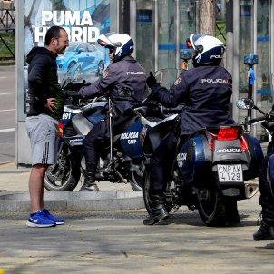 Policies espanyols control coronavirus EFE/ Chema Moya
