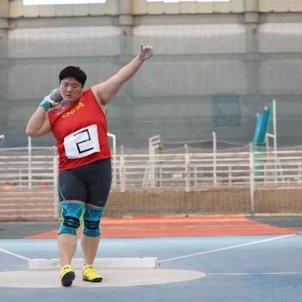 Gong Lijiao Foto Chinese Athletics Association