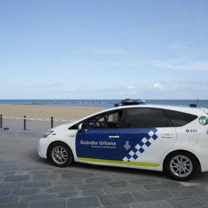Coronavirus Barceloneta tancada Buit buida Policia Guardia Urbana - Sergi Alcazar