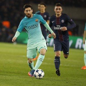 Messi PSG Barça Efe