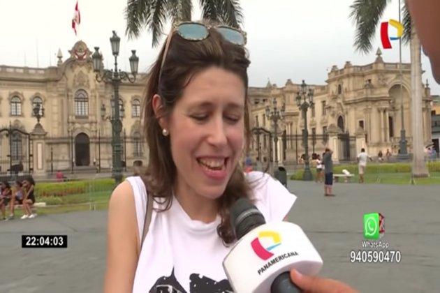 Turista española Peru 24 horas