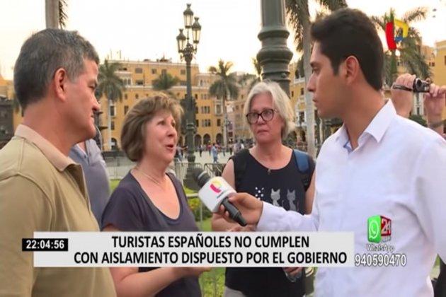 Turistas españoles Perú 3 24 horas