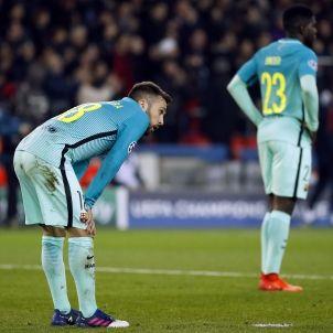 Jordi Alba Umtiti Champions EFE