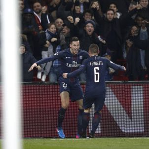 Barça PSG Verratti Draxler EFE