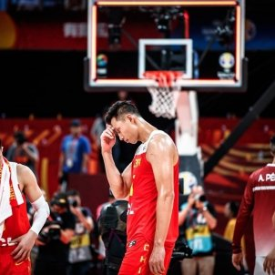 Selecció xinesa Xina basquet EuropaPress