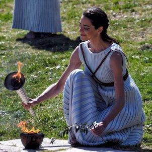 flama olimpica efe
