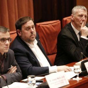 Junqueras comparexença Parlament / Sergi Alcàzar