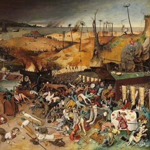 test 95 les grans epidemies a catalunya representacio d el tromf de la mort de pieter brueghel 1572 font viquipedia