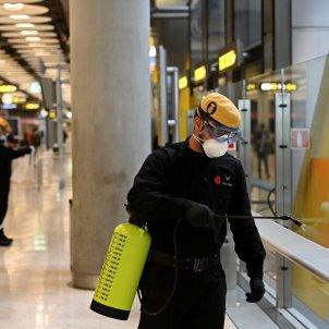exercit espanyol coronavirus aeroport barajas efe