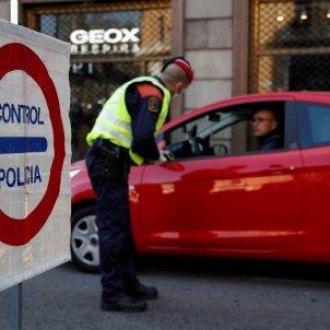 Control confinament mossos d'esquadra coronavirus policia - Efe