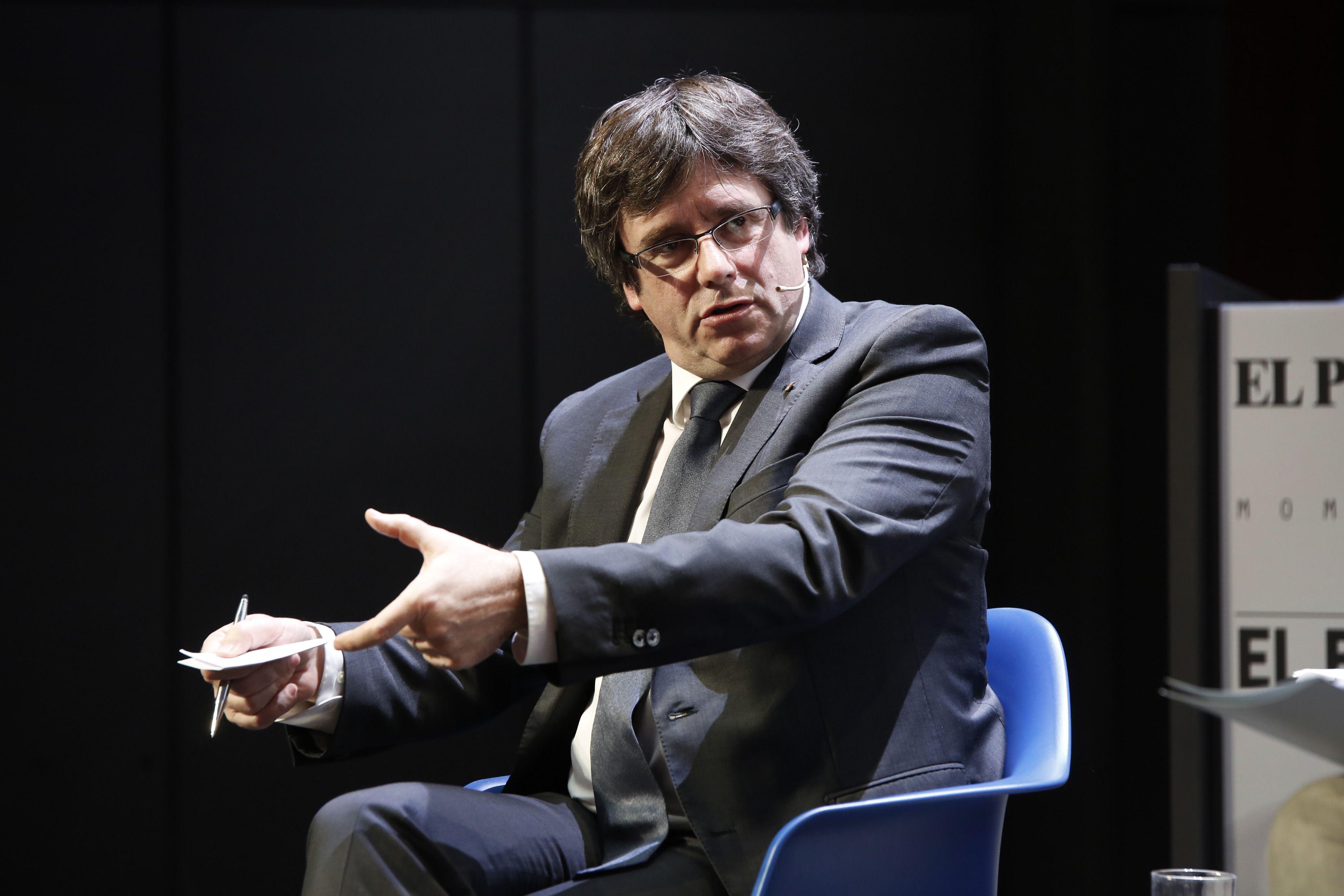Puigdemont moment zero - Sergi Alcàzar