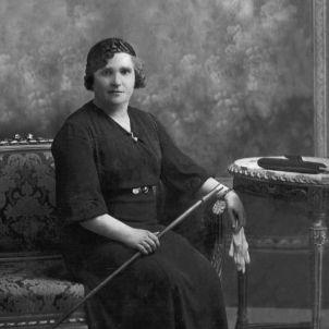 Nativitat Yarza. Primera dona alcaldessa. Bellprat, 1934