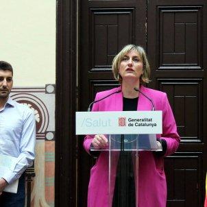 Alba vergés Oriol Mitjà epidemiòleg metge consellera Salut - ACN