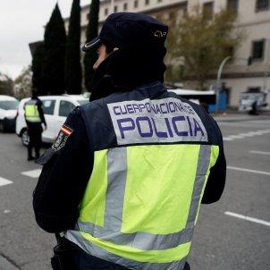 control policia nacional madrid transit embus - efe