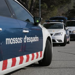 Control policial policia mossos d'esquadra mascareta coronavirus arro - Sergi Alcàzar